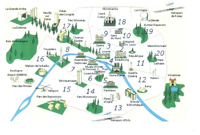 Parigi ecco i luoghi di interesse che non puoi farti sfuggire - Londra punti d interesse ...