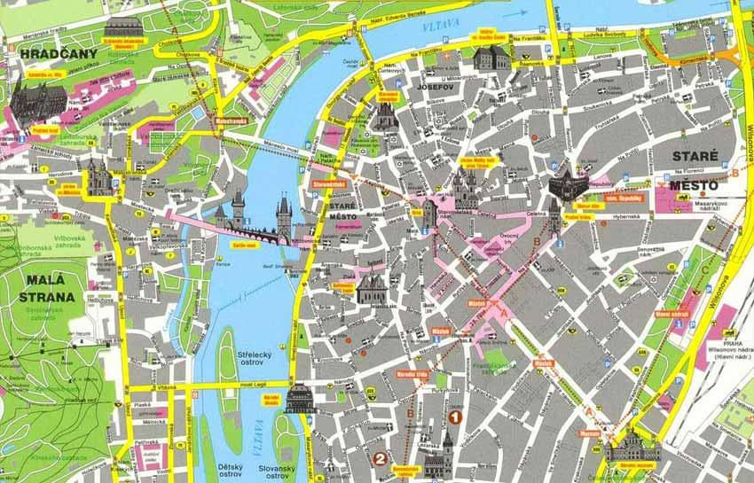 Cosa vedere a praga una guida della citt for Programma della mappa della casa